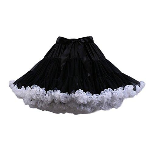 PhilaeEC Mujeres Tulle Petticoat Tutu Party Multicapa