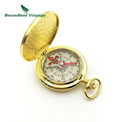 Deluxe-woods-pro Mini (Multi-funtional Portable Compass Outdoor Camping Mini Fluorescence Compass)