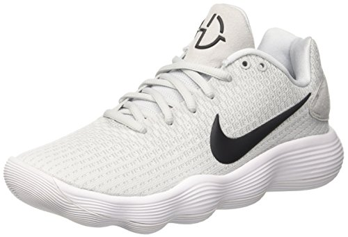 Nike Hyperdunk 2017 Low, Scarpe da Basket Uomo Multicolore (White/Black/Pure Platinum/Wolf Grey)