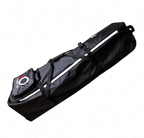 Finger Ten Sac de Voyage de Golf avec roulettes de Luxe léger pour Club de Golf ou Vacances, Noir