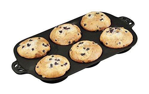 Camp Chef Gusseisen Backform für 9,5 cm Muffins (Gusseisen Backformen Aus)