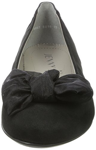 Jenny Pisa, Ballerines Femme Noir (noir)
