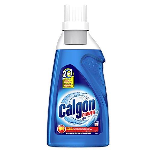 Calgon 2in1 Gel, Wasserenthärter gegen Kalk & Schmutz in der Waschmaschine, 3er Pack (3 x 750 ml)