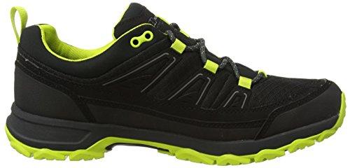 Berghaus Explorer Active GTX Tech Shoes, Chaussures de Randonnée Basses homme Multicolore (Black/Lime Z45)