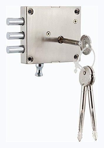 Ramson rimfit Two in One Tür Interlock mit Einzigartige Kreuz Schlüssel (288_ P1)