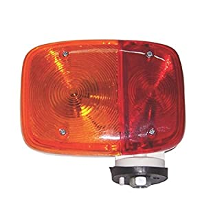 Bajato Front Flasher Lamp Multi-Purpose Lamps Bedford TK Amber-Red Color