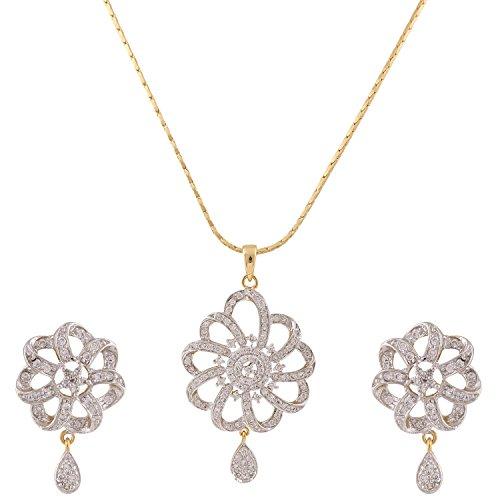 swasti-jewels-damen-american-diamant-aaa-cz-zirkon-fashion-schmuck-set-anhanger-ohrringe-gold