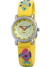 Excellanc Unisex-Armbanduhr Analog Quarz Kautschuk 407024000042
