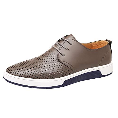 Business Herren Anzugschuhe, Frashing Schuhe Herren Business Schnürhalbschuhe Leichte Schuhe Atmungsaktiv Anzug Schuhe Lace Ups Schuhe Smoking Lackleder Hochzeit Schuhe