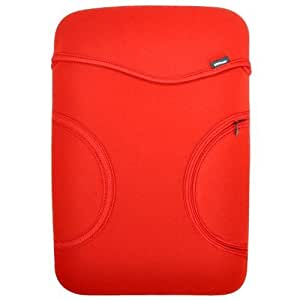 Contour Design 13.3 inch Pocket Sleeve for Apple MacBook/MacBook Air - Red/Black