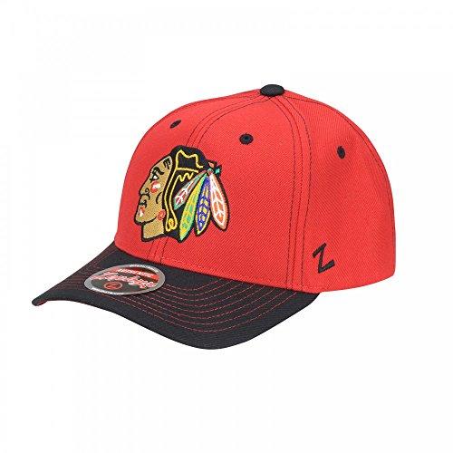 Offizielles NHL Chicago Blackhawks 'Cap, Basecap, Mütze' von Zephyr
