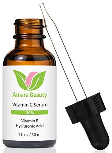 Vitamin C Serum für das Gesicht 20% mit Hyaluronsäure & Vitamin E - 30 ml