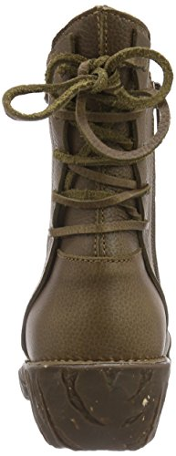 El Naturalista Yggdrasil N148, Boots femme Vert (kaki)