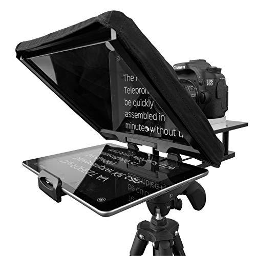 Forest® AV Teleprompter-Set für iPads/iPhone/Tablets für DSLR und Videokameras Inklusive passendem Flightcase Teleprompter-kit