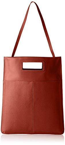 Royal RepubliQ Damen New Courier Flat Caviar Tote, Braun (Cognac), 4x43x35 cm (Bag New-handtaschen Tote)