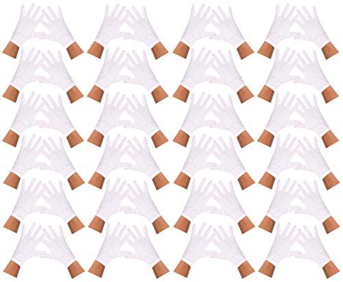 chsene mit 3Linien-Naht in® ilovefancydress-costume Weihnachtsmütze für magicians-bulk confezione da 24 bianco ()