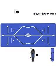 Tapis de yoga Tapis de yoga 15 mm pour débutants Maillot de sport pour dames