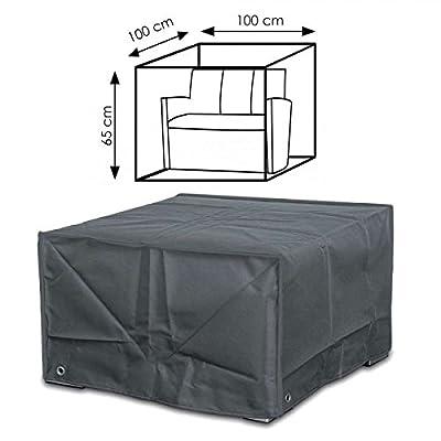 Schutzhülle 100x100x65 cm Abdeckung für Lounge Gartenmöbel Sessel Stuhl von Gartenpirat - Gartenmöbel von Du und Dein Garten