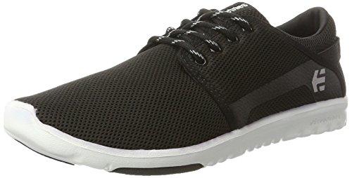 Etnies Herren Scout Sneaker Schwarz (Black/White/Black)