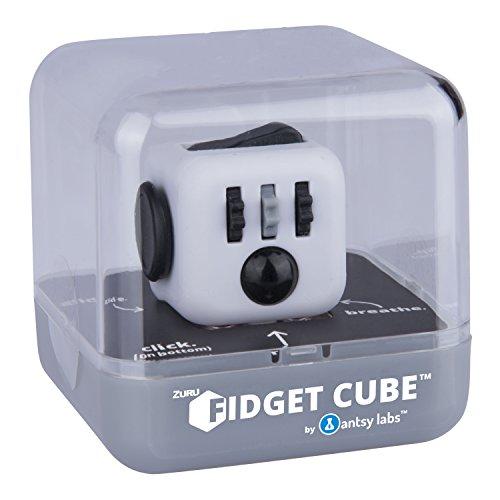 Fidget Cube 34551 - Original Cube von Antsy Labs, Spielzeug, weiß