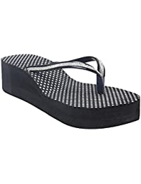 High Brands Women's Footwear | Rubber Wedges Slippers For Women's And Girl's | OL-9