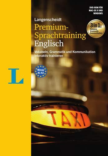 Langenscheidt Premium-Sprachtraining Englisch - DVD-ROM: Vokabeln, Grammatik und Kommunikation interaktiv trainieren
