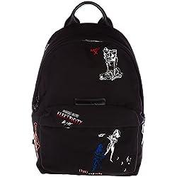 MCQ Alexander McQueen mochila bolso de hombre nuevo negro