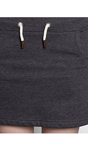 JUMPSTER Minirock EXQUISITE Damen kurzer Rock, sportlich lässiger Sommerrock MADE IN EU Exquisite Black