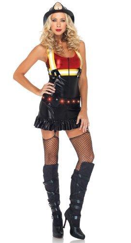 ot Spot Honey Kostüm Set, Größe L, schwarz/rot (Hot Spot Honey Kostüme)