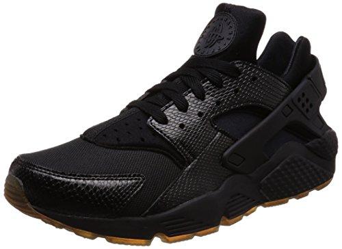 Nike Air Huarache, Sportschuhe für Herren, Schwarz/elementares Gold - Größe: 7,5 D(M) US