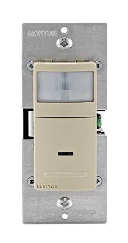 Leviton ips02–1Li 8Pack 180Grad PIR Wand Box Sensor, elfenbeinfarben (Led-belegungs-sensor-licht)