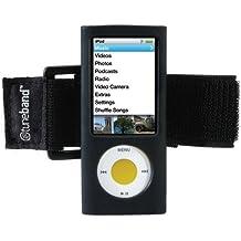tuneband para iPod Nano de 5ª generación (Modelo A1320, cámara trasera de 8GB/16GB,), tecnología de grantwood y brazalete de silicona