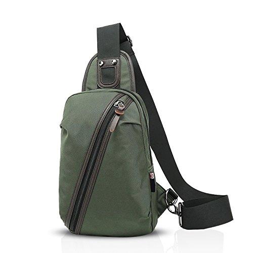1fa2b79a22321 FANDARE Outdoor Sports Rucksack Sling Bag Umhängetasche Messenger  Schultertasche Reisen Wandern Daypack Crossbag Crossbody Bag Chest