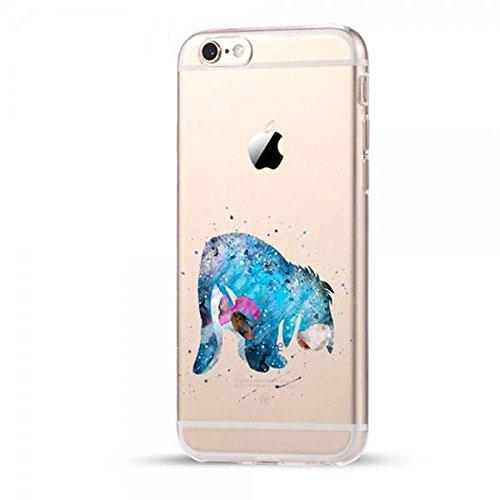 Disney Winnie Pooh Schutzhülle Appel Iphone Serie TPU transparent Silikon Case Appel Iphone Cartoon Hülle -AcAccessoires (Iphone X, #0084) #0075