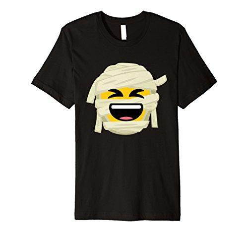 Lachen Laut Kostüm - Mummy Emoji-T-Shirt Laut Lachen Halloween-Kostüm Geschenk