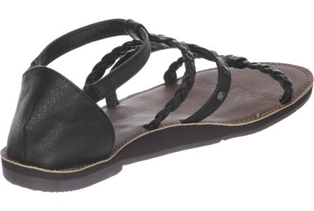 Reef Naomi Stud Tan/Black Sandale Tan/Black