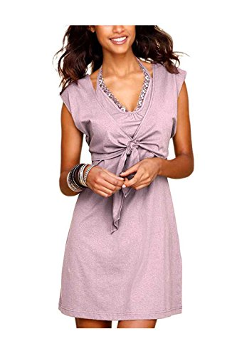 Arrival Damen-Kleid Two-in-One Kleid Rosa Größe 36