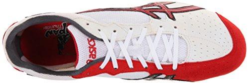 Asics, Scarpe da corsa uomo White/Red/Silver
