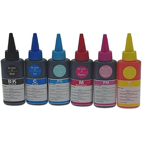 Bottiglia colore inchiostro per EPSON STYLUS R
