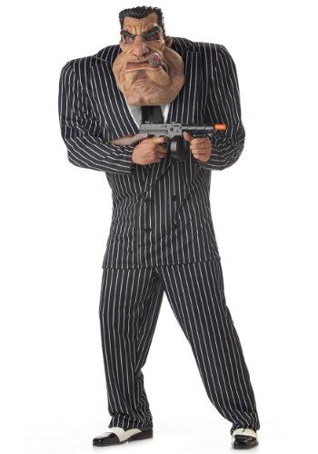 Adult Massive Mobster Costume Extra Large