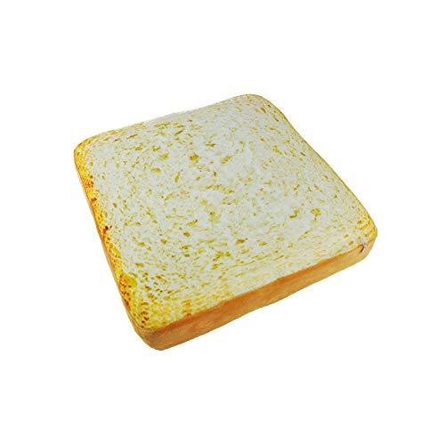 Daoxiang Toast-Form-Haustier-Bett-Matte, maschinenwaschbares weiches gepolstertes Mikrofaser-Kissen-Nest-Bett-Sofa für Katzen-Hundekaninchen-Welpen-Haustier,S - Haustier-matte Mikrofaser
