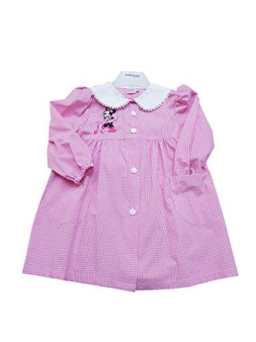 Minnie grembiule asilo disney per bambina scuola materna (art. u952004) (65-6 anni)