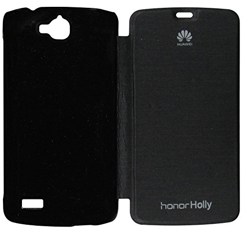 VRV Flip Cover For HUAWEI U19 HONOR Holly - Black  available at amazon for Rs.175