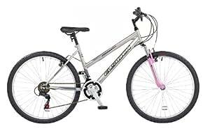 Elswick Premier FS W Womens Bike - Silver / Pink, 26-inch