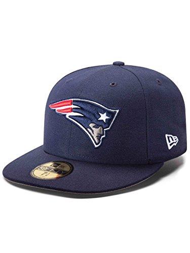 New Era Erwachsene Baseball Cap Mütze NFL On Field New England Patriots 59 Fifty Fitted Blau
