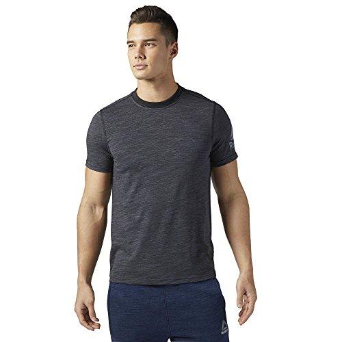 Reebok El Prime Group Tee Shirt, Herren Black (schwarz)