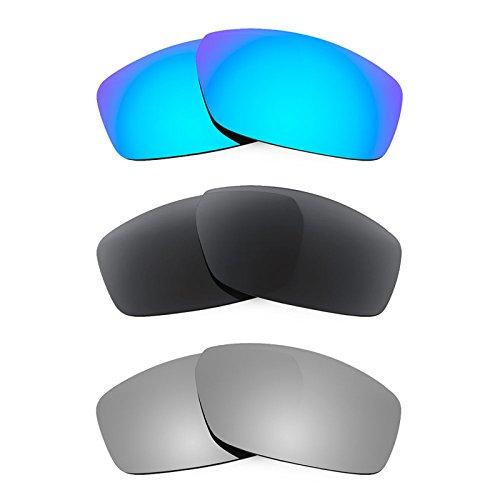 Revant Ersatzlinsen für Spy Optic Dirty Mo Polarisiert 3 Paar Kombipack K015