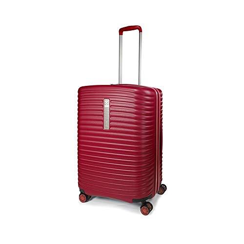 MODO by Roncato Trolley Medio Vega Rosso, Misura: 68x48x25/30 Cm, Peso: 3.4 Kg, Capacità: 72/86 L