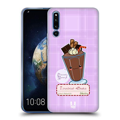 Head Case Designs Love Boat Kawaii Torte Und Milkshake Soft Gel Hülle für Huawei Honor Magic 2