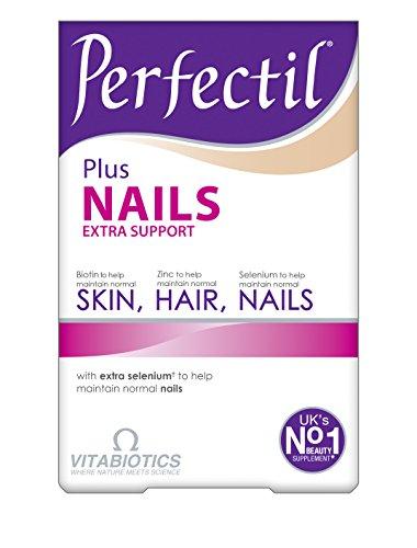 Vitabiotics Perfectil Plus Nails 60 Tabs, 59 g (Niacin-60 Tabletten)